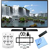 Samsung UN55J6200 - 55-Inch Full HD 1080p 120hz LED HDTV Slim Flat Wall Mount Bundle
