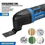 G LAXIA Oscillating Tool, 2.3 Amp Oscillating