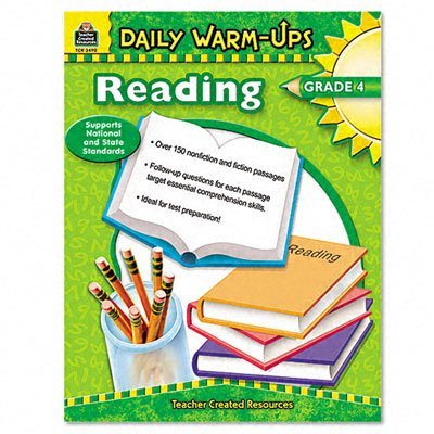 Teacher Created Resources 3490 Daily Warm-Ups Book, Reading, Grade (History Of Halloween Reading Comprehension)
