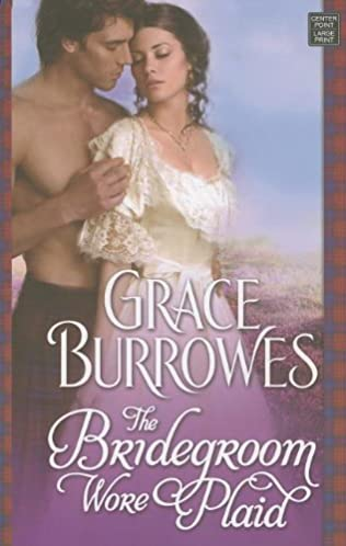 book cover of The Bridegroom Wore Plaid