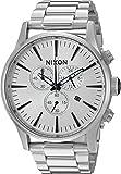 Nixon Mens Sentry Chrono X White Silver Collection