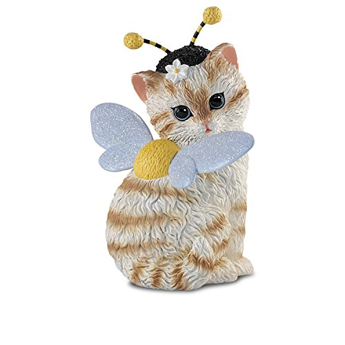 Artist Kayomi Harai Cat: Busy As A Bee Figurine by The Hamilton - Bug Cat Eyed