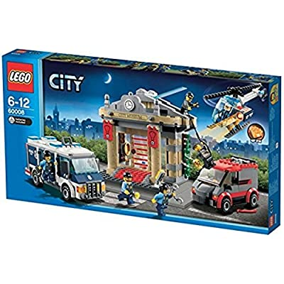 LEGO CITY Museum Break-in & Police Unit w/ Six Minifigures | 60008: Toys & Games