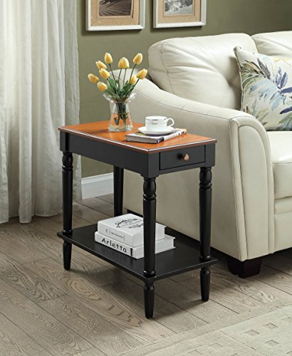Convenience Concepts French Country No Tools Two Tone Chairside (French Country Tables)