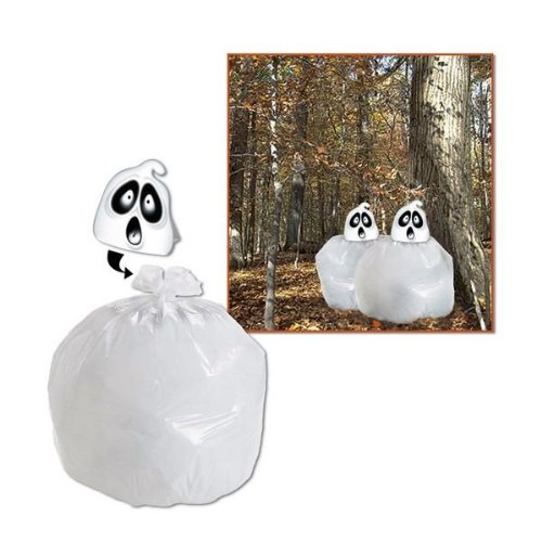 (Beistle Party Decoration Spooky Spirit Leaf Bag 35