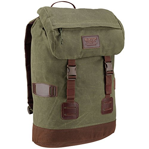 Burton Tinder Backpack, Forest Night Waxed Canvas, One Size