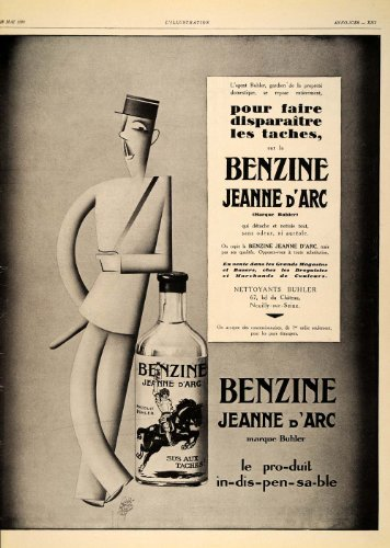 1929-french-ad-benzine-jeanne-darc-garretto-art-deco-original-print-ad