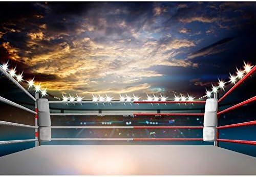 Csfoto Arena Fotogarphie Hintergrund Für Boxen Match Kamera