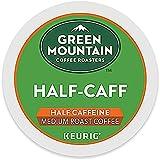 Green Mountain Coffee Roasters Half-Caff Keurig Single-Serve K-Cup Pods, Medium Roast Coffee, 12 Pods (Pack Of 6)
