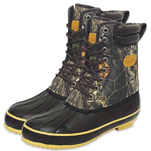 Pro Line Mens 10.5 Inch Insulated,Camo Hunting Boots M.o.b.u