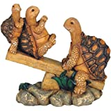 George S. Chen Imports SS-G-61058, 3 Turtles On Seesaw Garden Decoration Collectible figure Statue Model