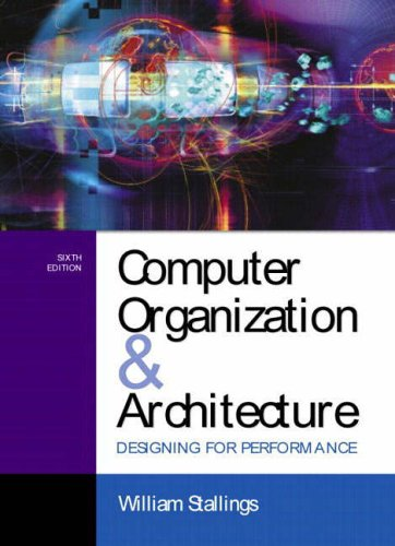 Computer Organization And Architecture Designing For Peformance With Operating Systems Internals And Design Principles Stallings William 9780582843059 Amazon Com Books