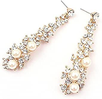 Amazon.com: Gyouanime Ear Danglers Women Long Drop
