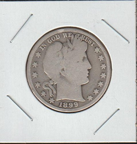 1899 O Barber or Liberty Head (1892-1915) Half Dollar Very Good