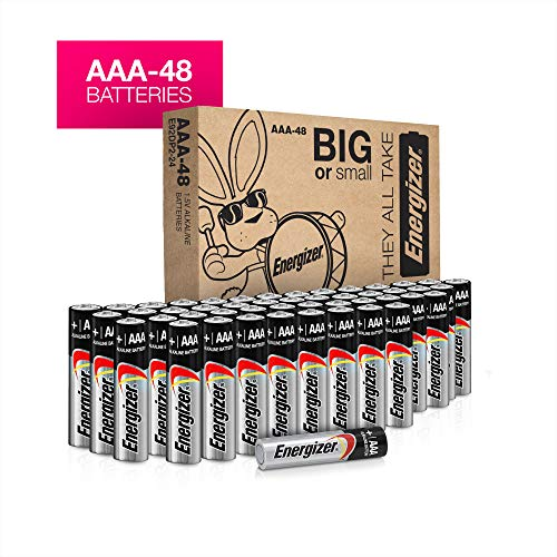 (AAA Batteries, 48 count - Energizer MAX Premium Alkaline Double A Battery)