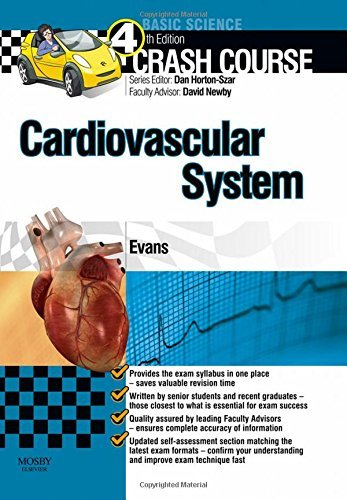 Crash Course Cardiovascular System Updated Print + E-Book Edition, 4e by Evans BMedSci Jonathan (2015-03-06) Paperback