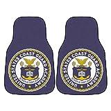 Fanmats NCAA Military 'Coast Guard' Academy Nylon Face Carpet Car Mat