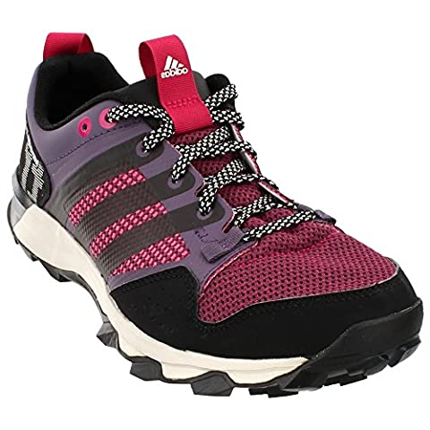 adidas Outdoor Kanadia 7 Trail Running Shoe - Women's Ash Purple/Black/Bold Pink 9.5