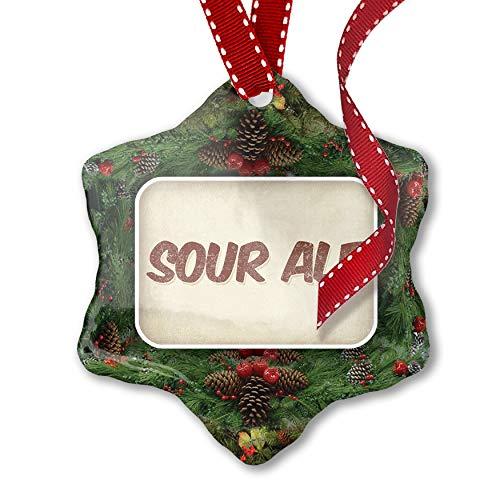 (NEONBLOND Christmas Ornament Sour ale Beer, Vintage)