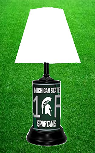 MICHIGAN STATE SPARTANS NCAA LAMP - BY TAGZ SPORTS