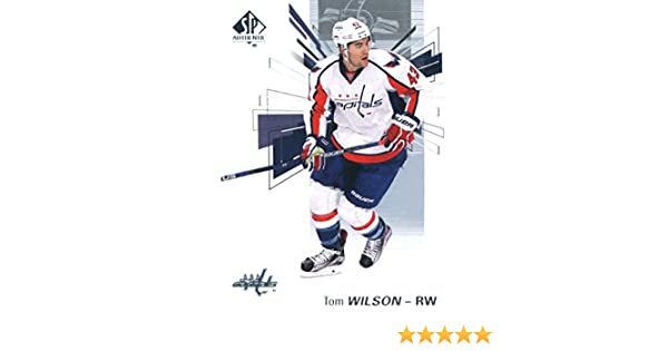 new products 36833 9c49c 2016-17 Upper Deck SP Authentic #65 Tom Wilson Washington Capitals Hockey  Card