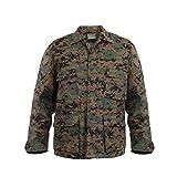 Rothco Rothco Bdu Shirt - Woodland Digital/XX-Large