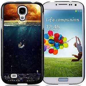 Drawnig Scene Durable High Quality Samsung Galaxy S4 I9500 Case