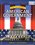 Magruder's American Government, PRENTICE HALL, 0130370487