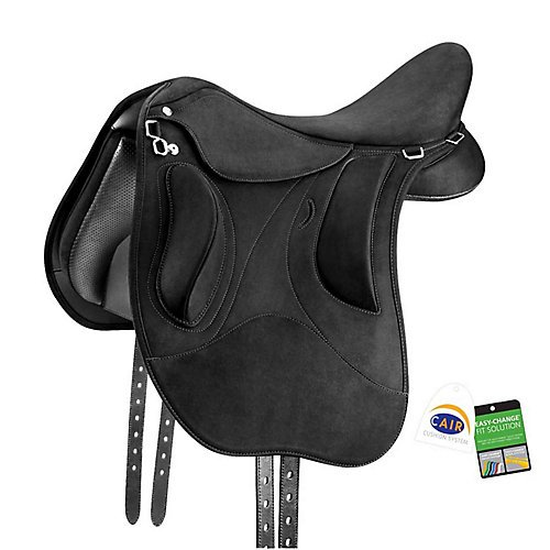 (Wintec Pro Endurance Saddle w/CAIR 18 Black)