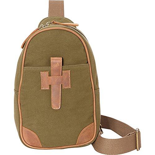 Bag Cotton Chest Green Travel Pack Canvas Traveler Vagabond OwZpq