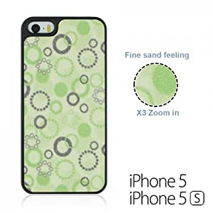 OnlineBestDigital - Sand Surface Bubble Shape Hard Back Cover Case for Apple iPhone 5S / Apple iPhone 5 - Green