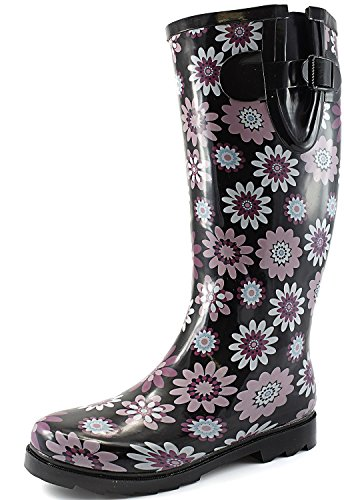 boots for rain for women size 5 - 4