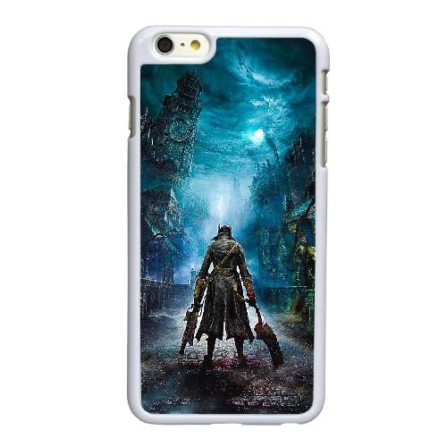 Bloodborne A3V28O9WT coque iPhone 6 6S Plus 5.5 Inch case coque white SQ782Y