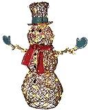 GEMMY STARRY NIGHT GRAPEVINE SNOWMAN PROP CHRISTMAS DECOR Garden Yard Village – SS87718MDG