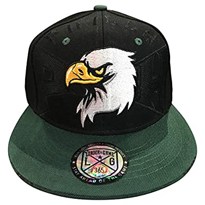 Leader of the Game Philly Birds Football Hat in Philadelphia City Edition Colors Green & Black