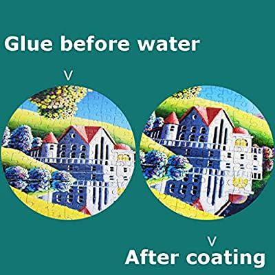 BOOMdan Puzzle Glue Clear Puzzles Adhesive, Non-Toxic Puzzles Glue Easy to Wipe, Simple to use,it can Make Your Puzzles Pieces Last Longer, with Bright Colors 60ml: Arts, Crafts & Sewing