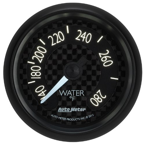 Auto Meter 8031 GT Series Mechanical Water Temperature Gauge by Auto Meter (Image #3)