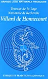 Numéro 61 : éthique et tradition maconnique par de Honnecourt