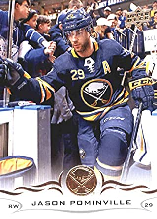 bee39cb0b68 Amazon.com: 2018-19 Upper Deck Hockey Card #24 Jason Pominville Buffalo  Sabres Official NHL UD Trading Card: Collectibles & Fine Art
