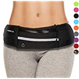 Waist Packs : Best Comfortable Running Belts That Fit All Phone Models and Fit All Waist Sizes. for Running, Workouts, Cycling, Travelling Money Belt & More. Comes in 2 Stylish Colors