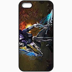 Personalized iPhone 5 5S Cell phone Case/Cover Skin Aion Black by lolosakes