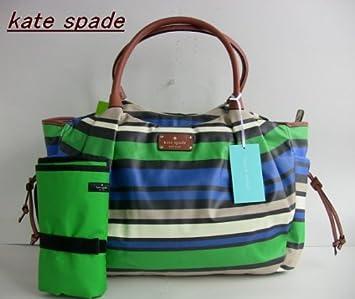 Amazon.com: Kate Spade Stevie Shoreline Verde Cobalto Stripe ...