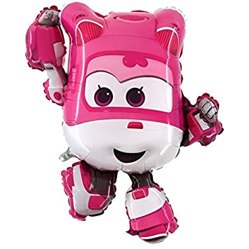 Balloons 85cm Dizzy The Pink Super Wings Foil Balloon ...