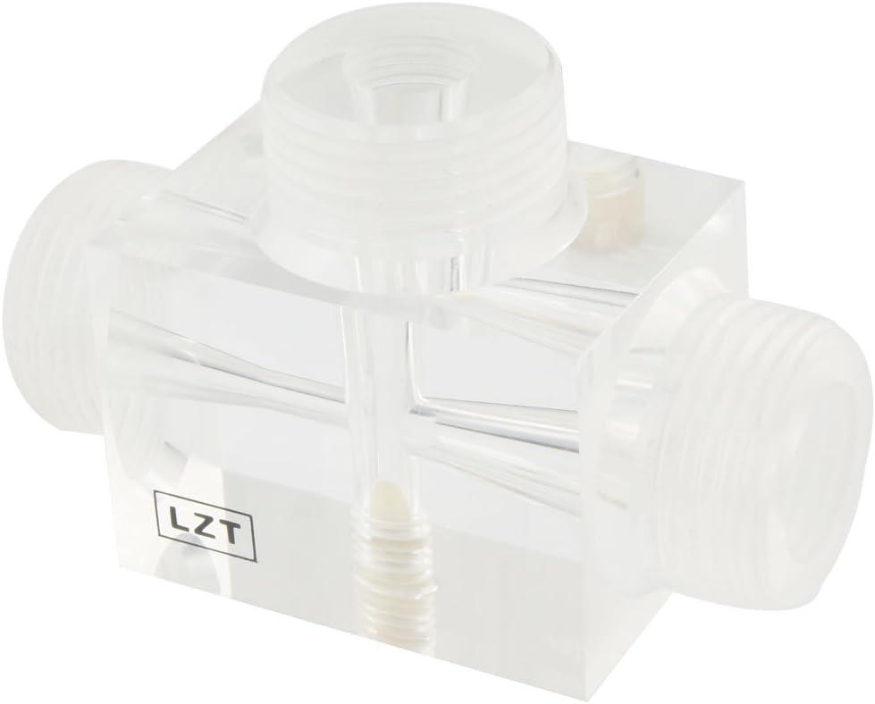 2,54 cm Diámetro de la cuerda BSP orgánico luz roja para tratamiento de agua de cristal Jet extractor