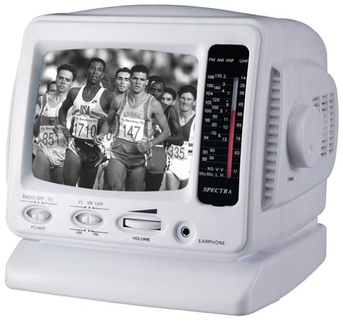 Battery Operated Portable Tv - 5