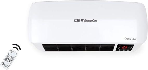 Orbegozo SP 6000 – Calefactor de baño Split programable con mando ...