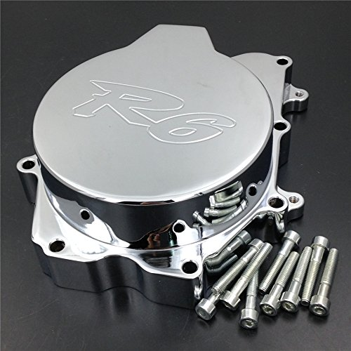 Motorbike Engine Stator Cover Yamaha Yzf R6 2003-2006 Yzf-R6S 03-09 Chromed Left Side