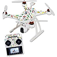 Skin For Blade Chroma Quadcopter – Bright Lures | MightySkins Protective, Durable, and Unique Vinyl Decal wrap cover | Easy To Apply, Remove, and Change Styles | Made in the USA