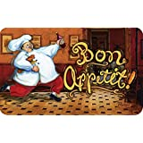 Cushion Comfort Running Chef Kitchen Mat, 18-Inch by 30-Inch
