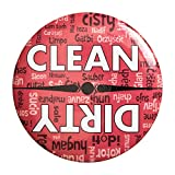 Sutter Signs Clean & Dirty Dishwasher Magnet
